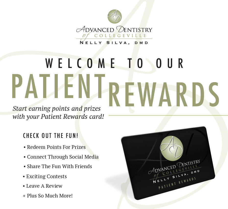 collegeville dentistry patient rewards program web