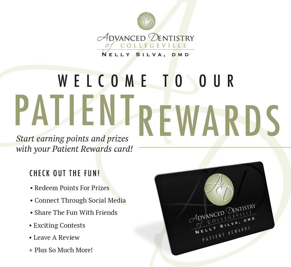 collegeville dentistry patient rewards program web
